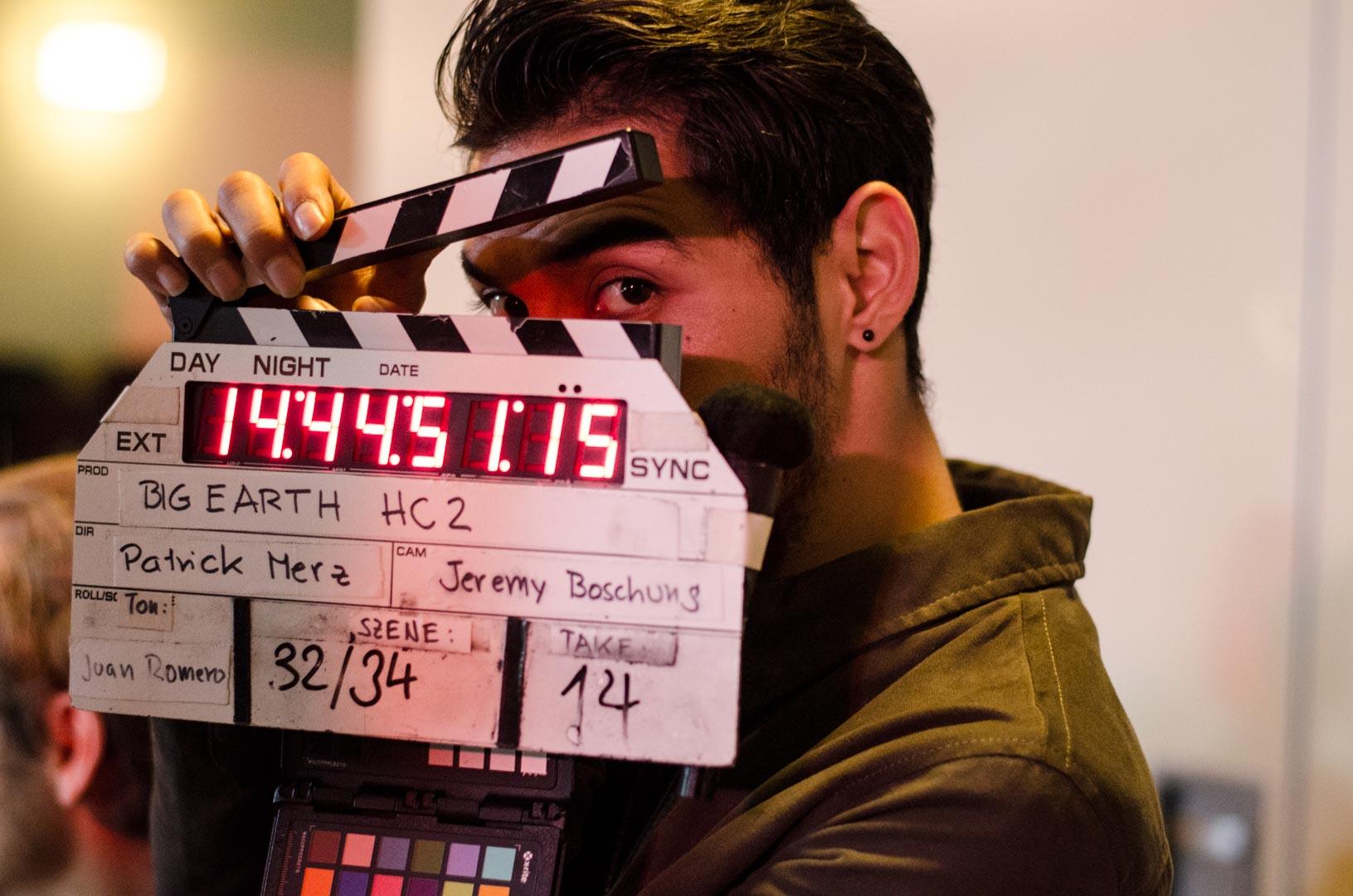Regieassistent Meisam Amini